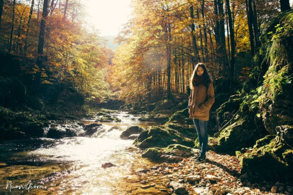 Cascate della Val D'Arzino -NuoviGiorni- Alice fotografata da Giacomo