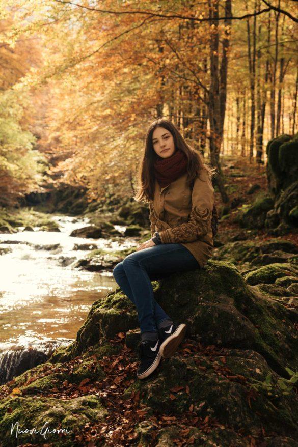 Cascate della Val D'Arzino NuoviGiorni Alice fotografata da Giacomo