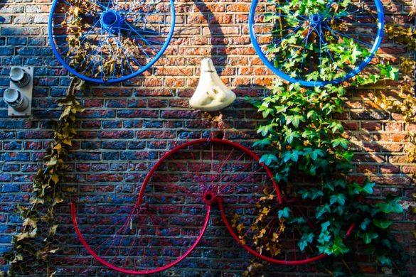 amsterdam bicicletta arte