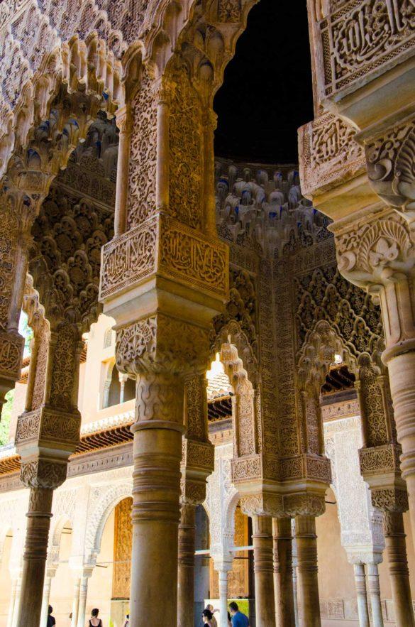 granada alhambra decorazione