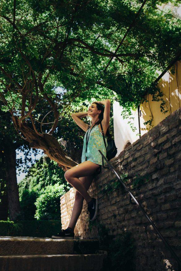 granada alice giardino alhambra