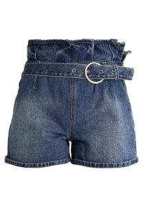Lost Ink Shorts di jeans