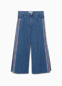 Mango Jeans Flare Stripes