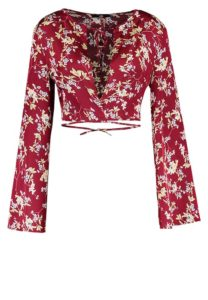 Missguided camicetta red