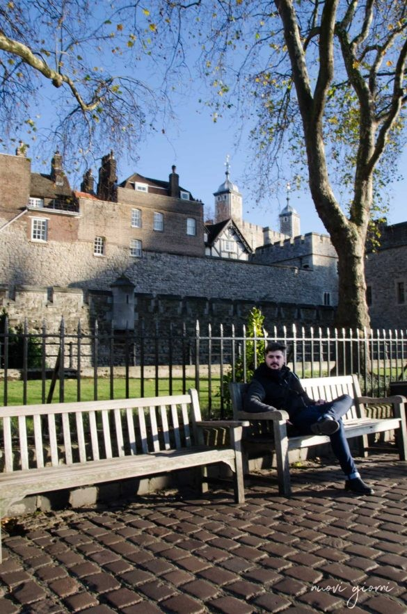 Londra Giacomo tower of london
