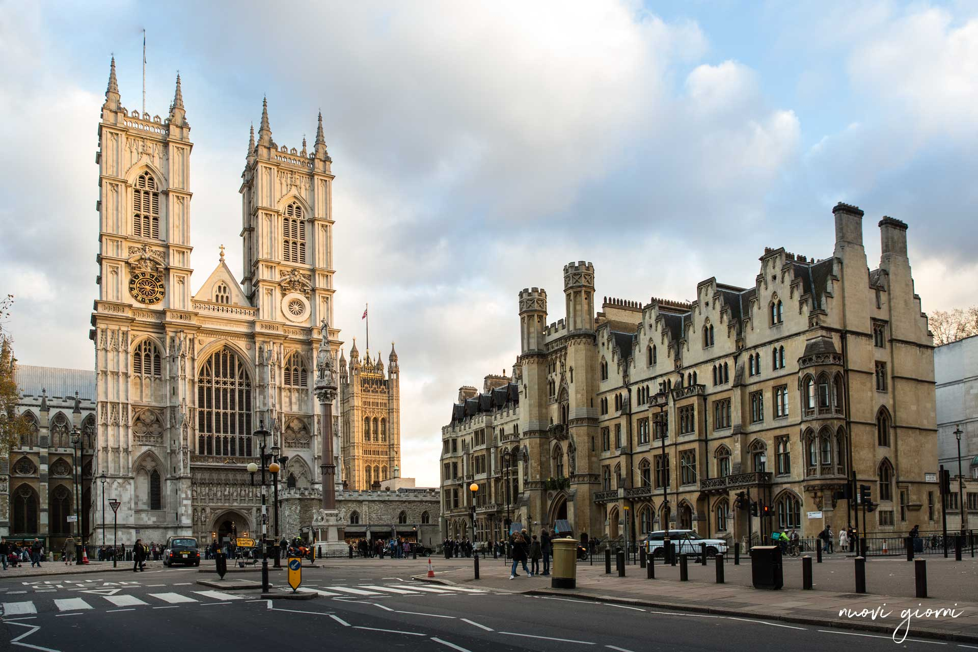 Londra Westminister abbey watermark