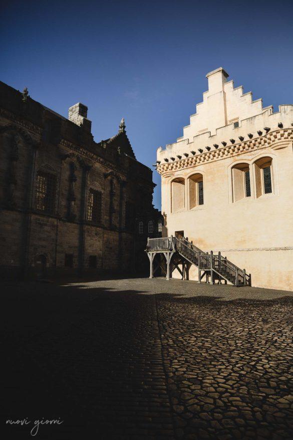 Stirling Castle Castello Scozia Nuovi Giorni Blog