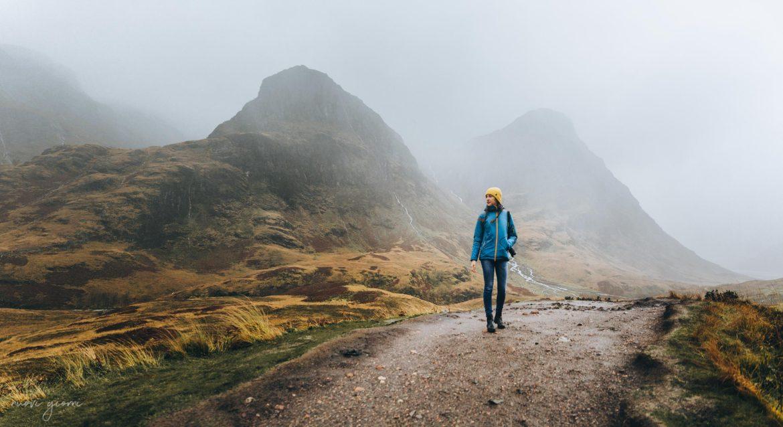 Glencoe scozia Scotland highlands three sisters tre sorelle Panorama nuovi giorni blog