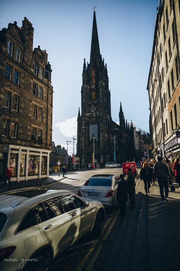 Royal Mile Edinburgh edimburgo nuovi giorni blog