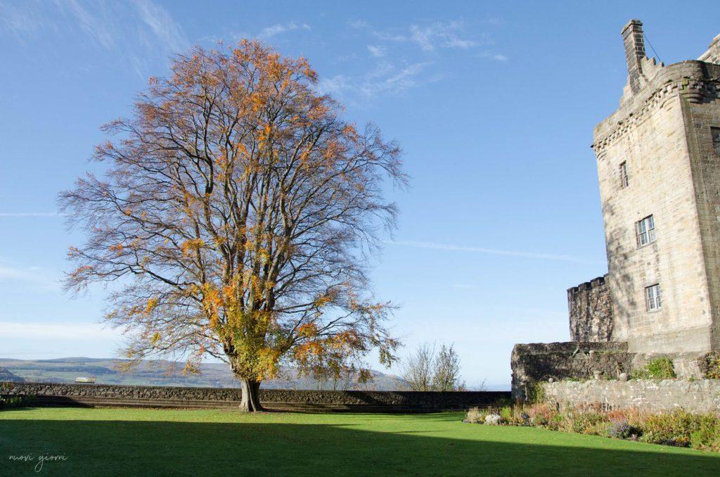 Stirling Castle Castello Scozia Vista View Panorama Nuovi Giorni Blog 2