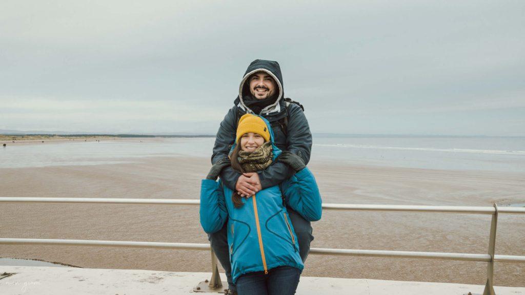 Saint Andrews St Andrews Chariots of Fire Momenti di Gloria Spiaggia Beach Scotland Scozia Nuovi Giorni Blog