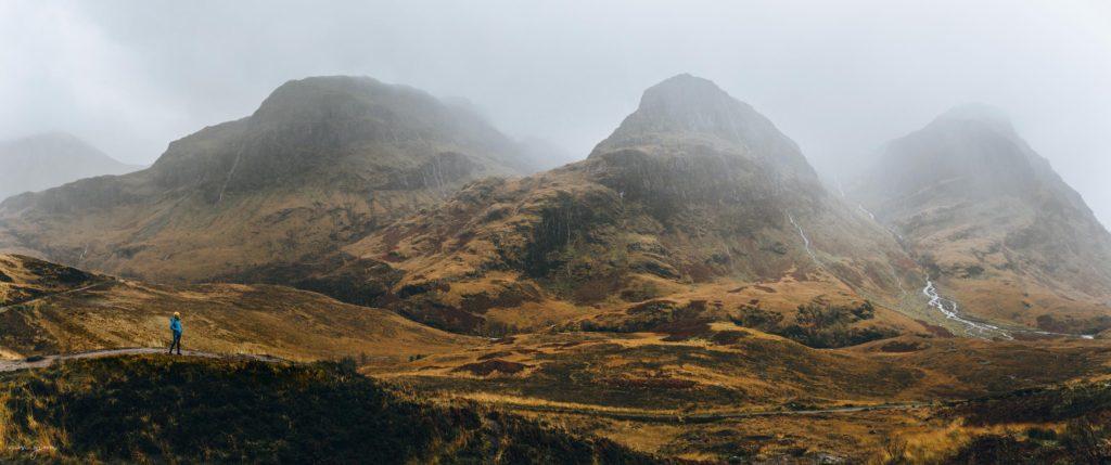 Glencoe scozia Scotland highlands three sisters nuovi giorni blog