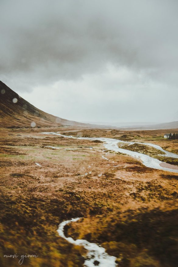 Glencoe scozia Scotland highlands river nuovi giorni blog