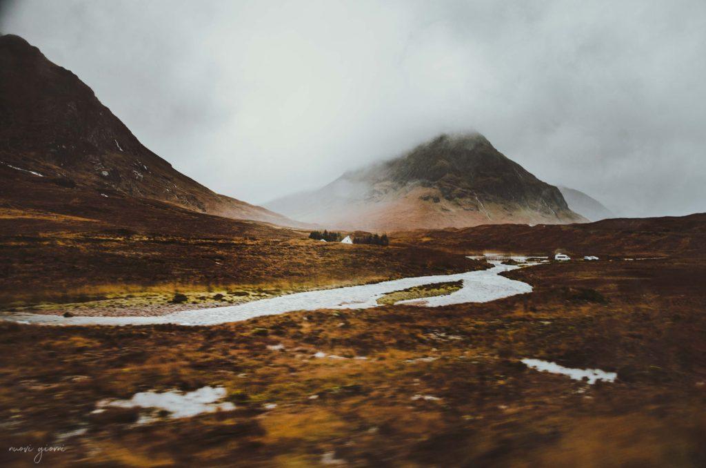 Glencoe scozia Scotland highlands river nuovi giorni blog 2
