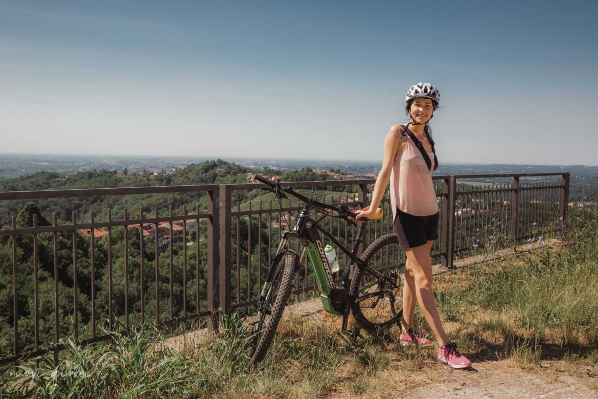 BrickScape Blog Tour 2019 - Nuovi Giorni Blog - Alice - Panorama - Monte Bernadia - E-Bike