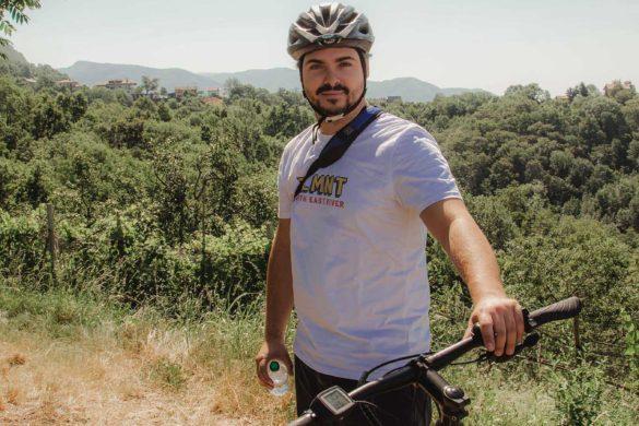 BrickScape Blog Tour 2019 - Nuovi Giorni Blog - E-bike - Friuli Venezia Giulia - Giacomo - Acqua