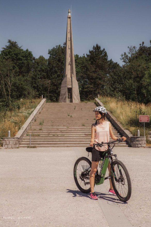 Monumento Faro Julia - Monte Bernadia - BrickScape Blog Tour 2019 - Nuovi Giorni Blog