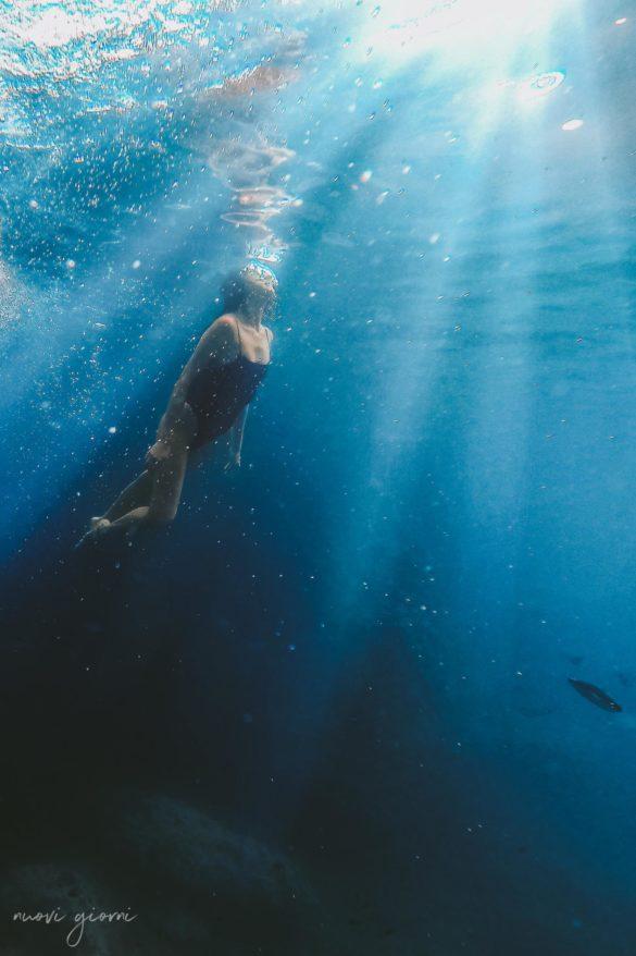 Vacanza in Italia alle Isole Tremiti - Alice - Snorkeling - Nuovi Giorni Blog