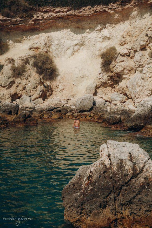 Vacanza in Italia alle Isole Tremiti - Giacomo in Spiaggia - Nuovi Giorni Blog