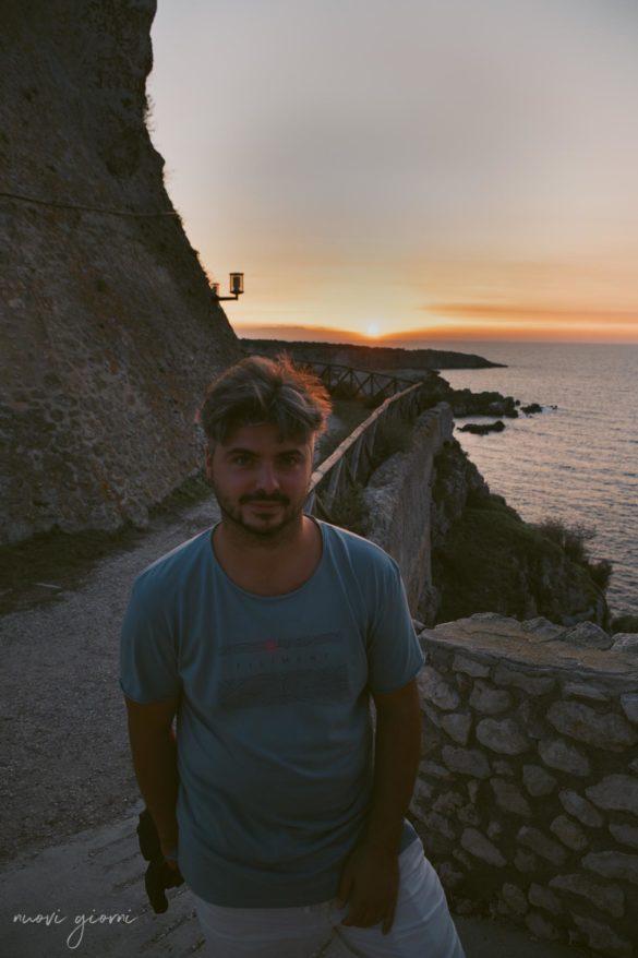 Vacanza in Italia alle Isole Tremiti - Giacomo al Tramonto - Nuovi Giorni Blog