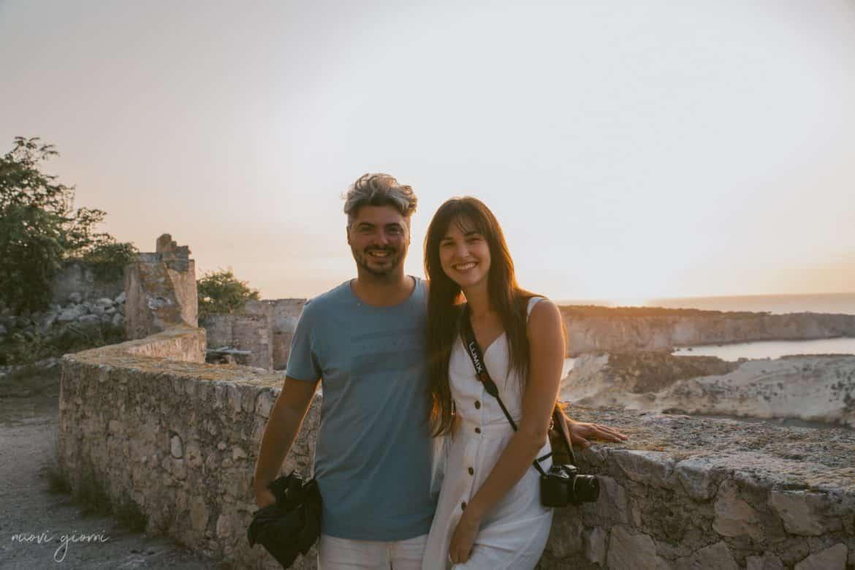 Vacanza in Italia alle Isole Tremiti - Alice e Giacomo - Tramonto - Nuovi Giorni Blog