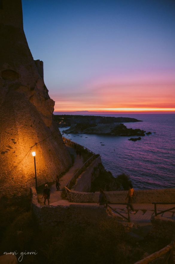 Vacanza in Italia alle Isole Tremiti - Tramonto - Nuovi Giorni Blog