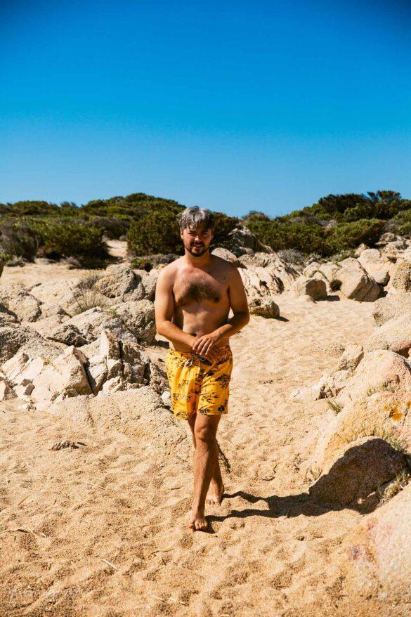 Tivella Spiaggia Corsica Francia Nuovi Giorni Blog passeggiata sulla spiaggia