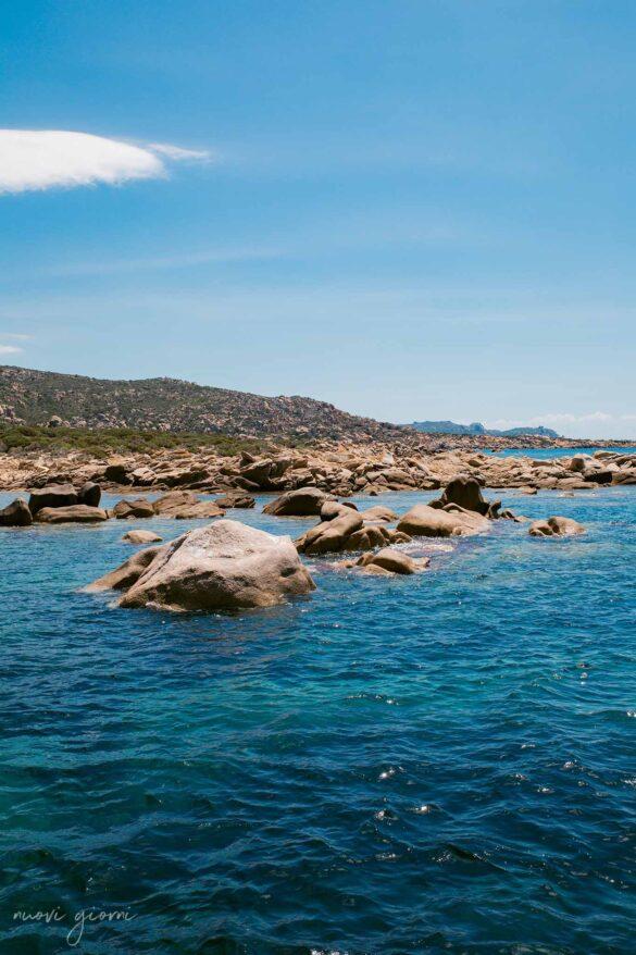 Tivella Spiaggia Corsica Francia Nuovi Giorni Blog Rocce