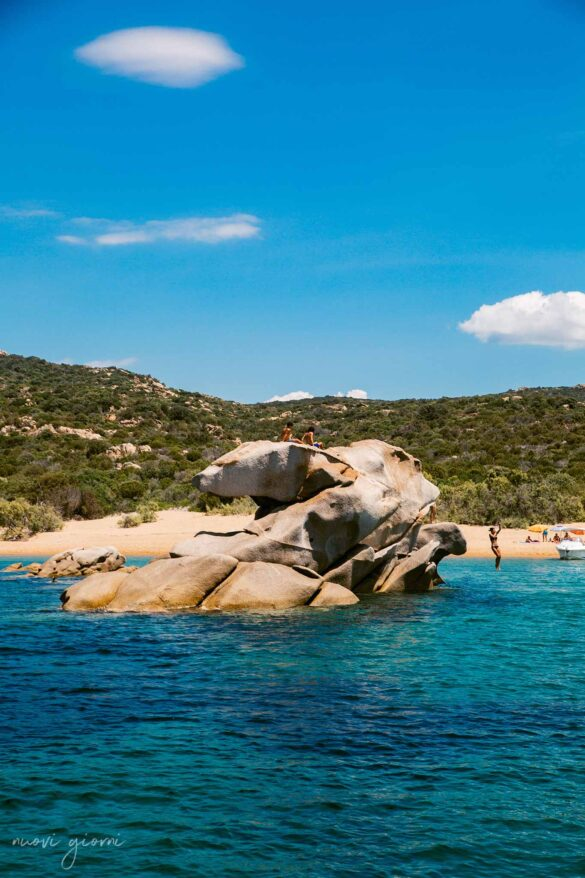 Tivella Spiaggia Corsica Francia Nuovi Giorni Blog Jump Dive