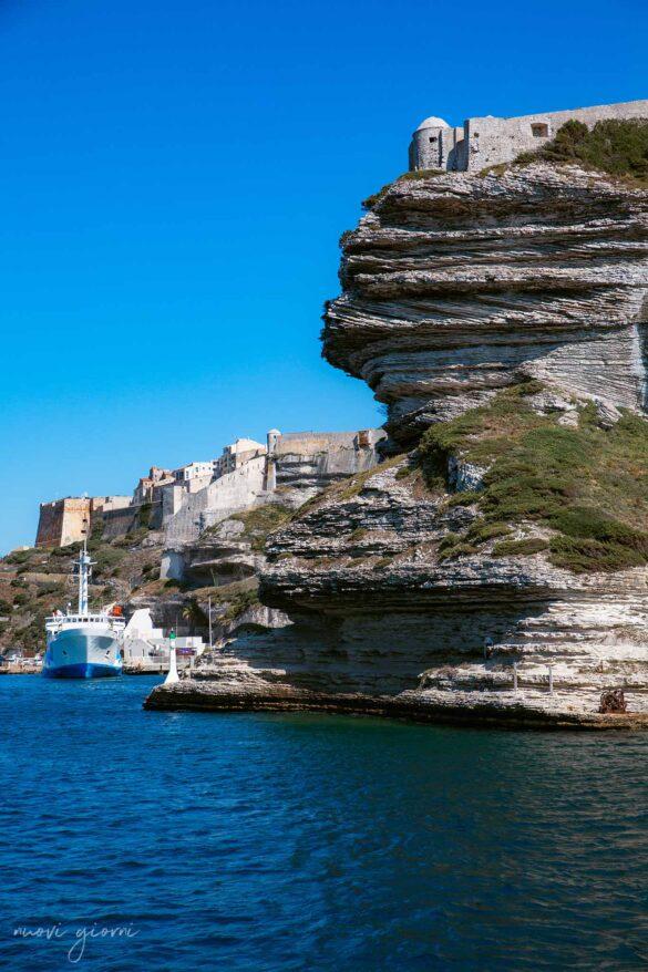 Ingresso Bonifacio Corsica Francia Foto Nuovi Giorni Blog