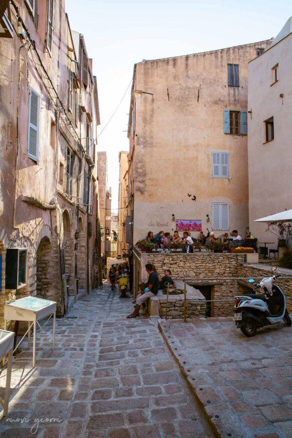 Città di Bonifacio Corsica Francia Foto Nuovi Giorni Blog Vie e Locali