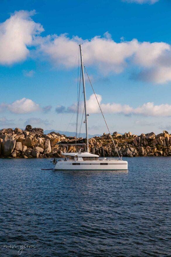 Catamarano Corsica Isola di Lavezzi Foto Nuovi Giorni Blog