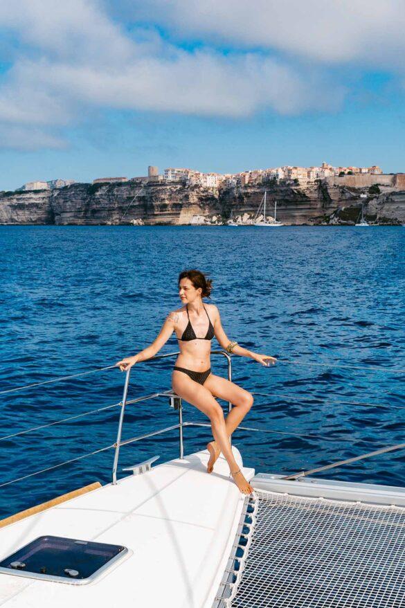 Vacanza in barca a Bonifacio Corsica Francia Foto Nuovi Giorni Blog