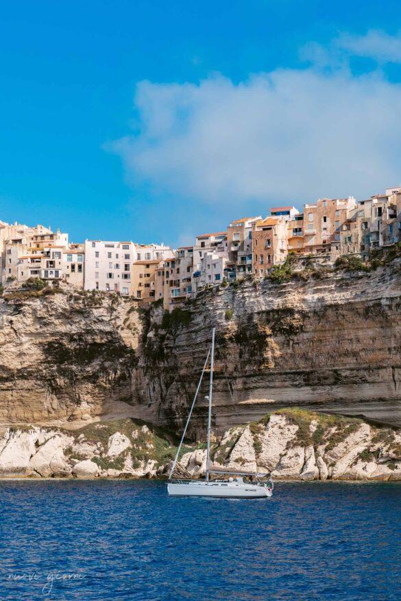 Bonifacio Corsica Francia Foto dal mare Nuovi Giorni Blog
