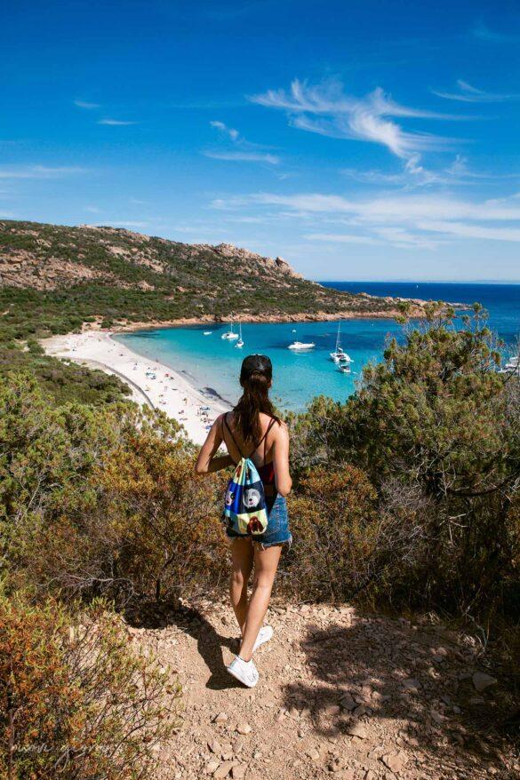Corsica Cala Roccapina Trekking Panorama View Nuovi Giorni Blog