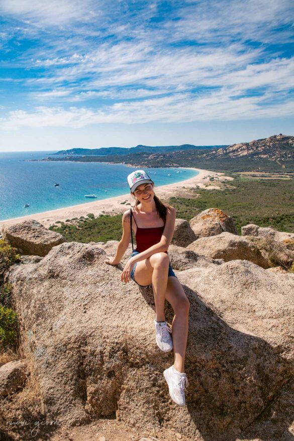 Corsica Vista sulla spiaggia di Erbaju Nuovi Giorni Blog