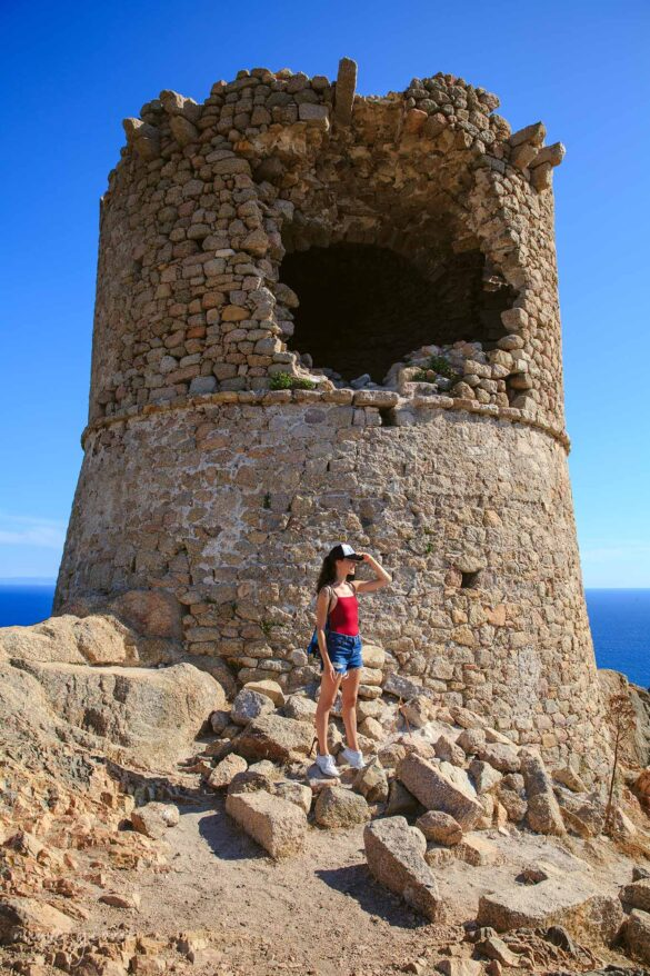 Torre Genovese Corsica Cala Roccapina Nuovi Giorni Blog