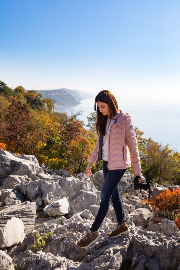 Sentiero Rilke-Trieste-Nuovi Giorni Blog-Ragazza-Mare-Carso-Dolomite-Fotografa