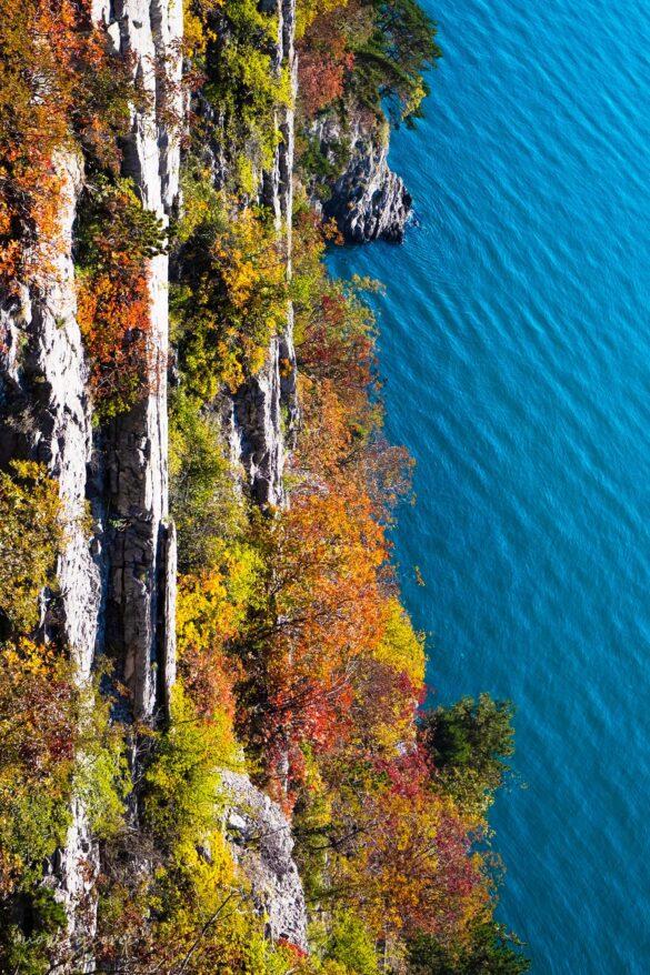 Sentiero Rilke-Trieste-Nuovi Giorni Blog-Mare blu-Colori autunnali