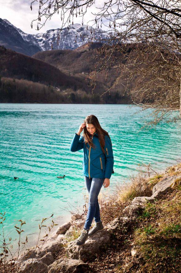 Lago di Barcis lungolago camminata Friuli Venezia Giulia attività