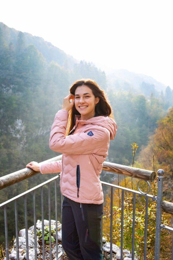 Lago di Barcis sentiero del dint Parco Dolomiti Friulane